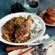 Food & Wine: Chicken with Catalan Picada