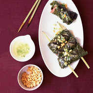 Food & Wine: Grilled Beef Rolls