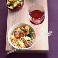 Food & Wine: Stir-Fried Noodles with Chanterelles