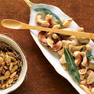 Food & Wine: Cashews with Crispy Sage and Garlic