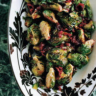 Food & Wine: Roasted Brussels Sprouts with Cranberry Brown Butter