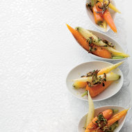Food & Wine: Carrots with Fried Shallot Gremolata