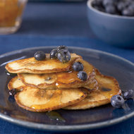 Food & Wine: Ricotta Pancakes with Blueberries