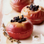 Food & Wine: Baked Apples with Currants and Sauternes
