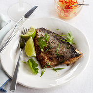Food & Wine: Lemongrass-Marinated Pompano with Dipping Sauce