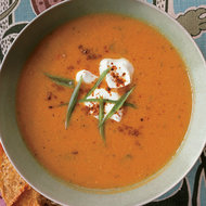 Food & Wine: Spicy Chickpea Soup