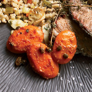 Food & Wine: Honeyed Carrots with Currants and Saffron