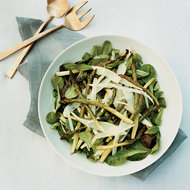 Food & Wine: Spring Lettuce Salad with Roasted Asparagus