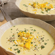 Food & Wine: Raw Sweet Corn and Cashew Chowder