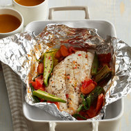 Food & Wine: Steamed Red Snapper Packets