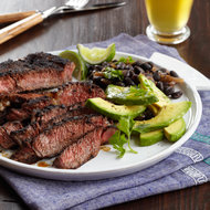 Food & Wine: Carne Asada with Black Beans
