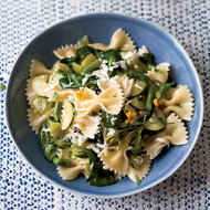 Food & Wine: Farfalle with Tomatoes and Green Vegetables
