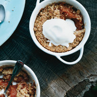 Food & Wine: Peach Crisps