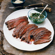 Food & Wine: Skirt Steak with Salsa Verde and Ricotta Salata