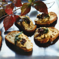 Food & Wine: Chicken Liver Crostini