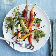 Food & Wine: Roasted Carrot and Avocado Salad with Citrus Dressing