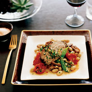 Food & Wine: Slow-Cooked Pork Shoulder with Cherry Tomatoes