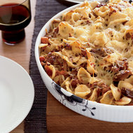 Food & Wine: Baked Orecchiette with Pork Sugo