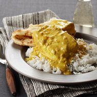 Food & Wine: Creamy Indian-Spiced Halibut Curry