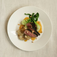 Food & Wine: Duck with Miso-Almond Butter