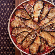 Food & Wine: Eggplant Parmesan with Crisp Bread Crumb Topping
