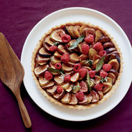 Food & Wine: Fig-and-Raspberry Tart with Chestnut Honey