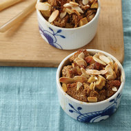 Food & Wine: Raisin-Studded Apple Bread Pudding