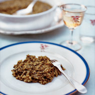 Food & Wine: Risotto with Baby Greens