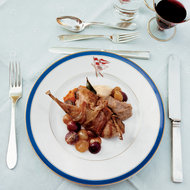 Food & Wine: Roast Squab with Bacon and Grapes