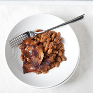 Food & Wine: Baked Beans with Maple-Glazed Bacon