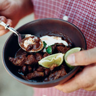 Food & Wine: Goat Chili with Eye of the Goat Beans
