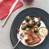 Food & Wine: Striped Bass with Caramelized Brussels Sprouts