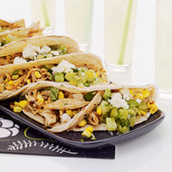 Food & Wine: Pulled Chicken & Grilled Corn Tacos