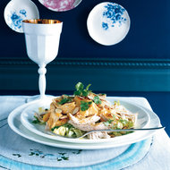 Food & Wine: Coronation Chicken Salad with Mangoes and Almonds