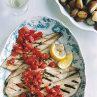 Food & Wine: Grilled Mackerel with Sicilian Caper-Tomato Salsa