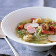Food & Wine: Country Potato-and-Cabbage Soup