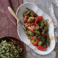 Food & Wine: Stewed Okra and Tomatoes