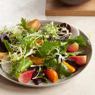 Food & Wine: Mixed Green Salad with Beets and Daikon