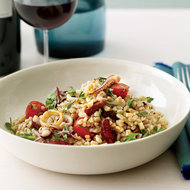 Food & Wine: Farro Salad with Squid and Chorizo