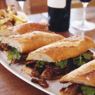 Food & Wine: Grilled Merguez Sandwiches with Caramelized Red Onions