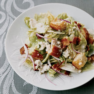 Food & Wine: Iceberg Salad with Blue Cheese Dressing