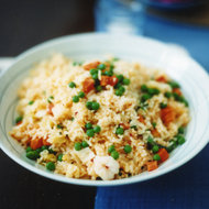 Food & Wine: Shrimp Fried Rice with Coconut and Pickled Onions