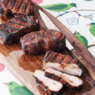Food & Wine: Cocoa-and-Chile-Rubbed Pork Chops