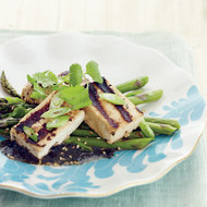 Food & Wine: Grilled Tofu with Asparagus and Nori Vinaigrette