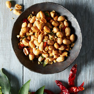 Food & Wine: Spicy Lime Leaf Beer Nuts