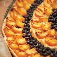 Food & Wine: Apricot-and-Blueberry Tart