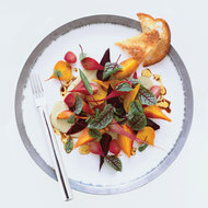 Food & Wine: Beet-and-Red Sorrel Salad with Pistachio