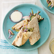 Food & Wine: Chicken Shawarma with Green Beans and Zucchini