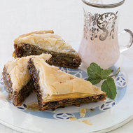 Food & Wine: Chocolate-Hazelnut Baklava