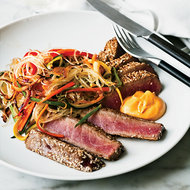 Food & Wine: Sesame-Crusted Tuna with Ginger Cream